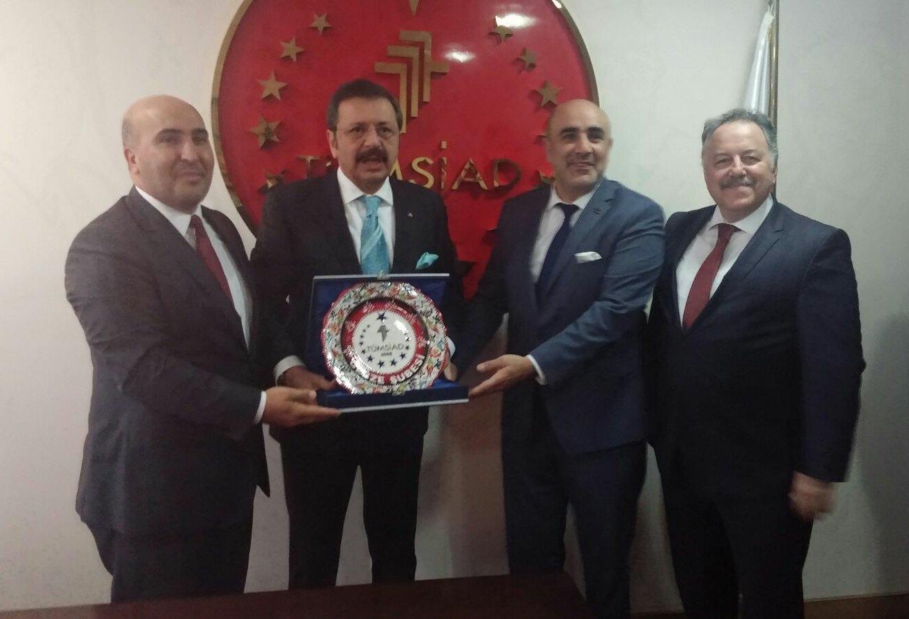 Hisarcıklıoğlu TÜMSİAD Gebze'yi ziyaret etti