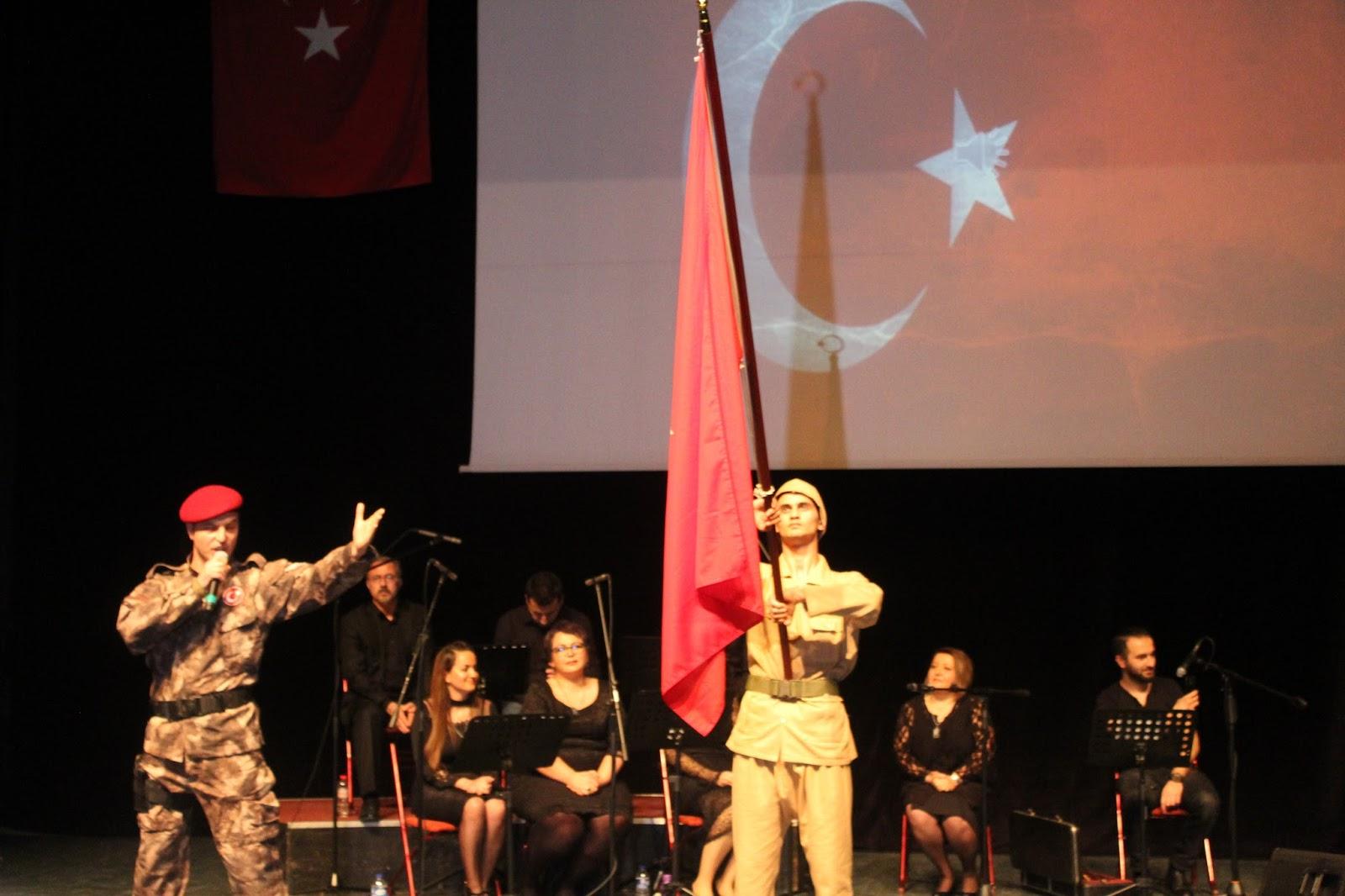 Türk'ü türküyle anlattılar