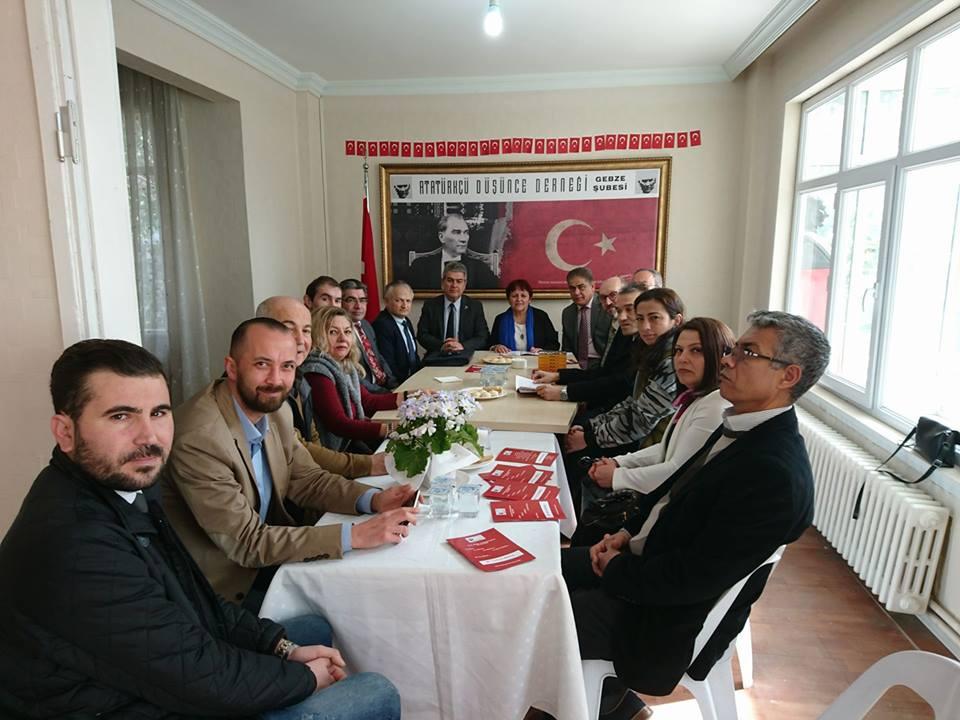 Süheyl Batum'dan ADD'ye ziyaret