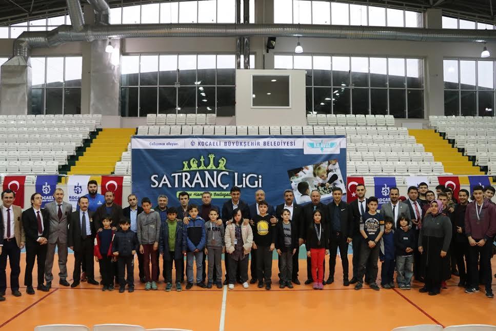 Satranç Ligi'nin beşinci etabı tamamlandı