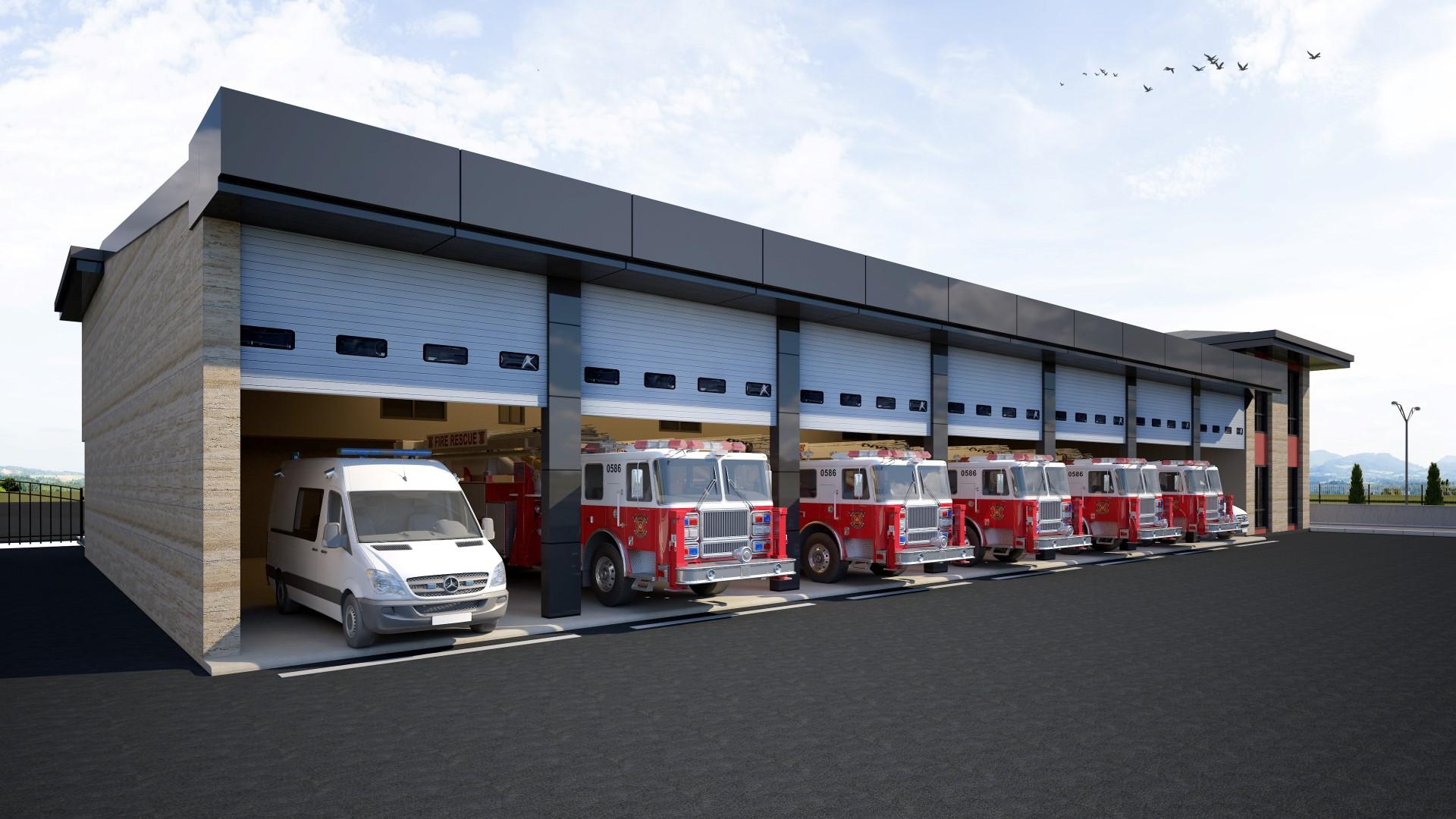 İtfaiye Terminal Müfrezesi 'ne yeni bina