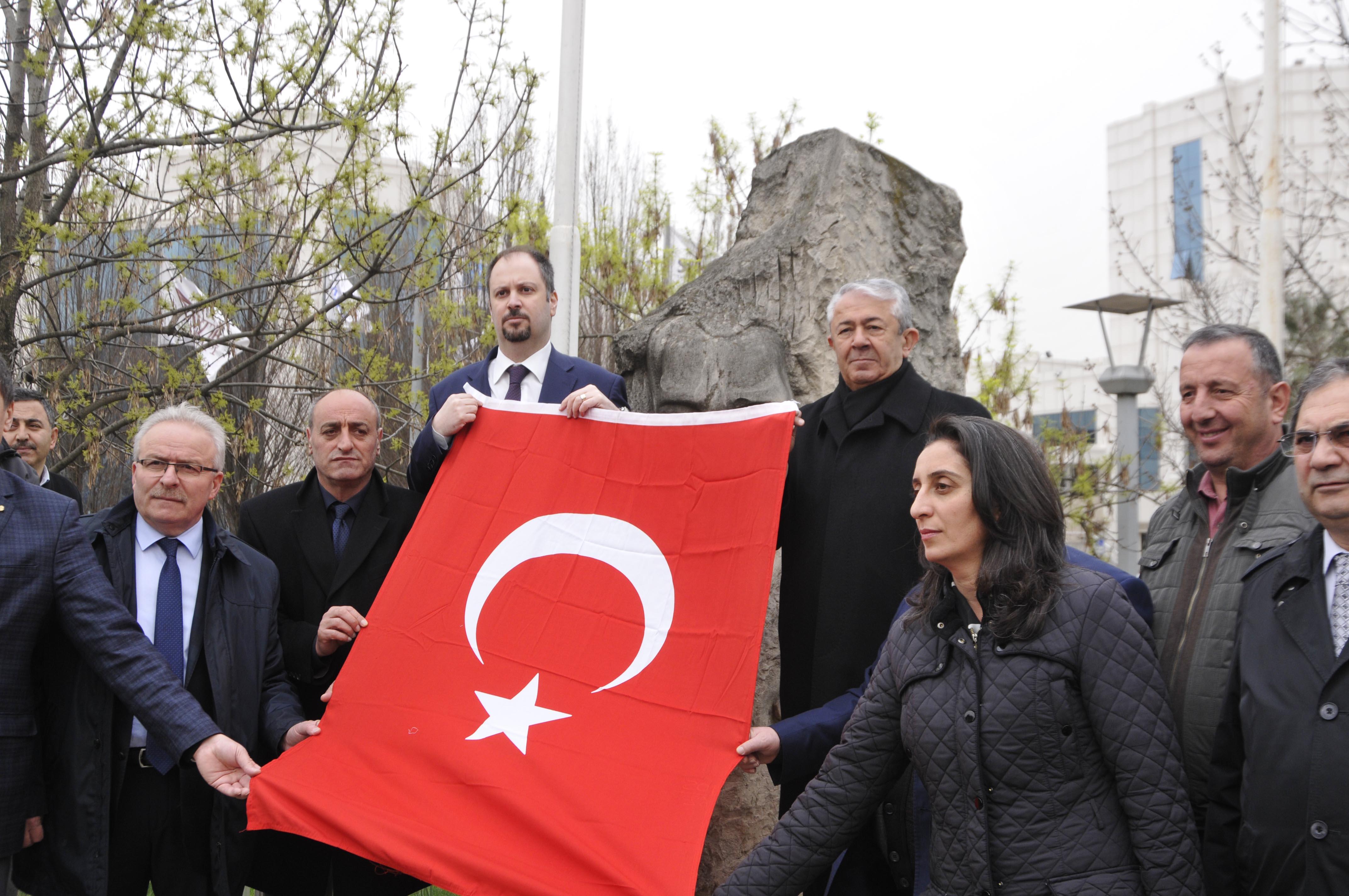 CHP, Büyükşehiri protesto etti