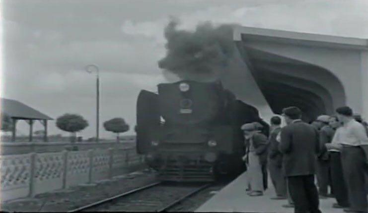 Gebze eski tren garından eski bir fotoğraf.