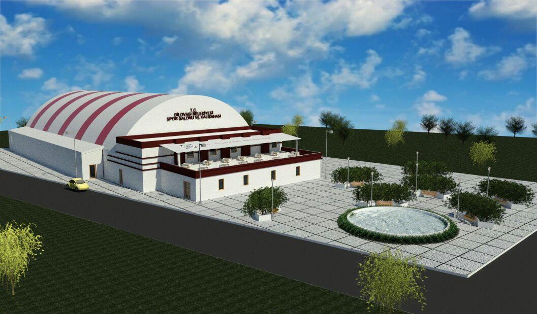 Diliskelesi Mahallesi'ne Spor Kompleksi İnşaatı Başladı