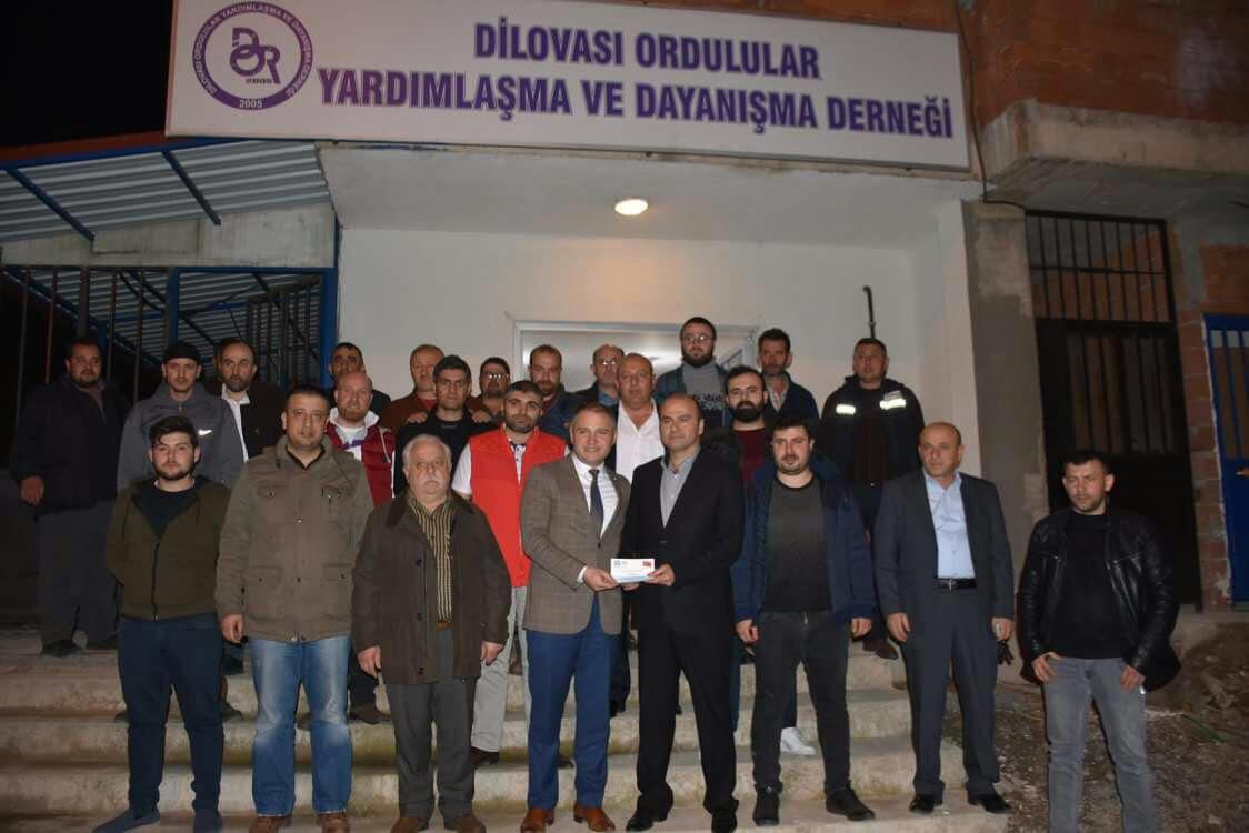 İYİ Parti Ordulular Derneği'ni ziyaret etti