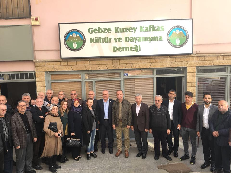 Ak Parti'den Kuzey Kafkas Derneği ziyareti