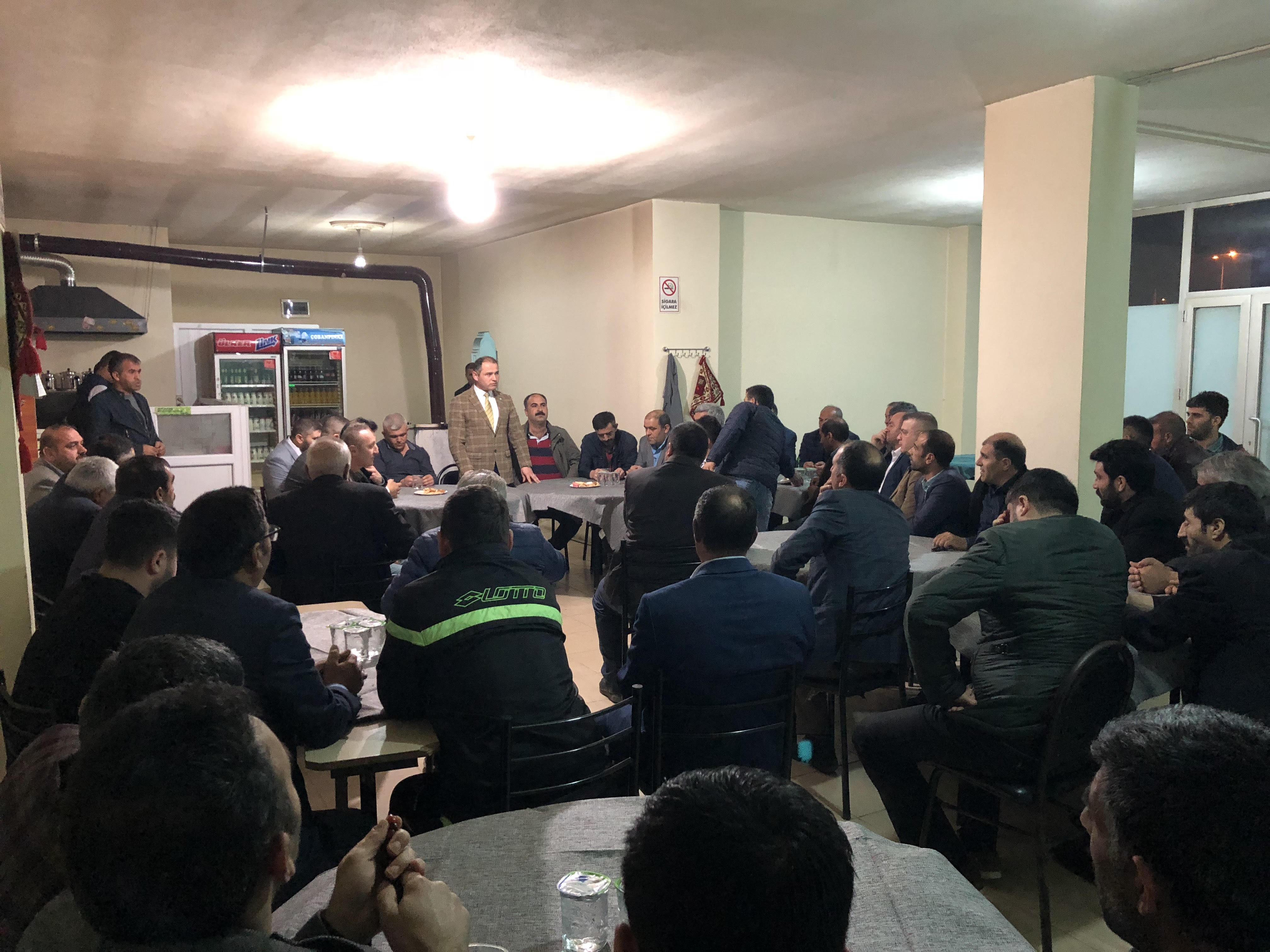 Dilovası İYİ Parti'den STK ziyaretleri