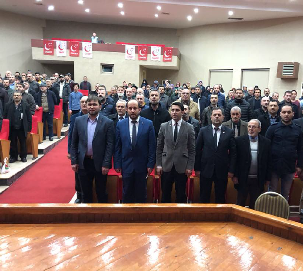Saadet Partisi'nden konferans