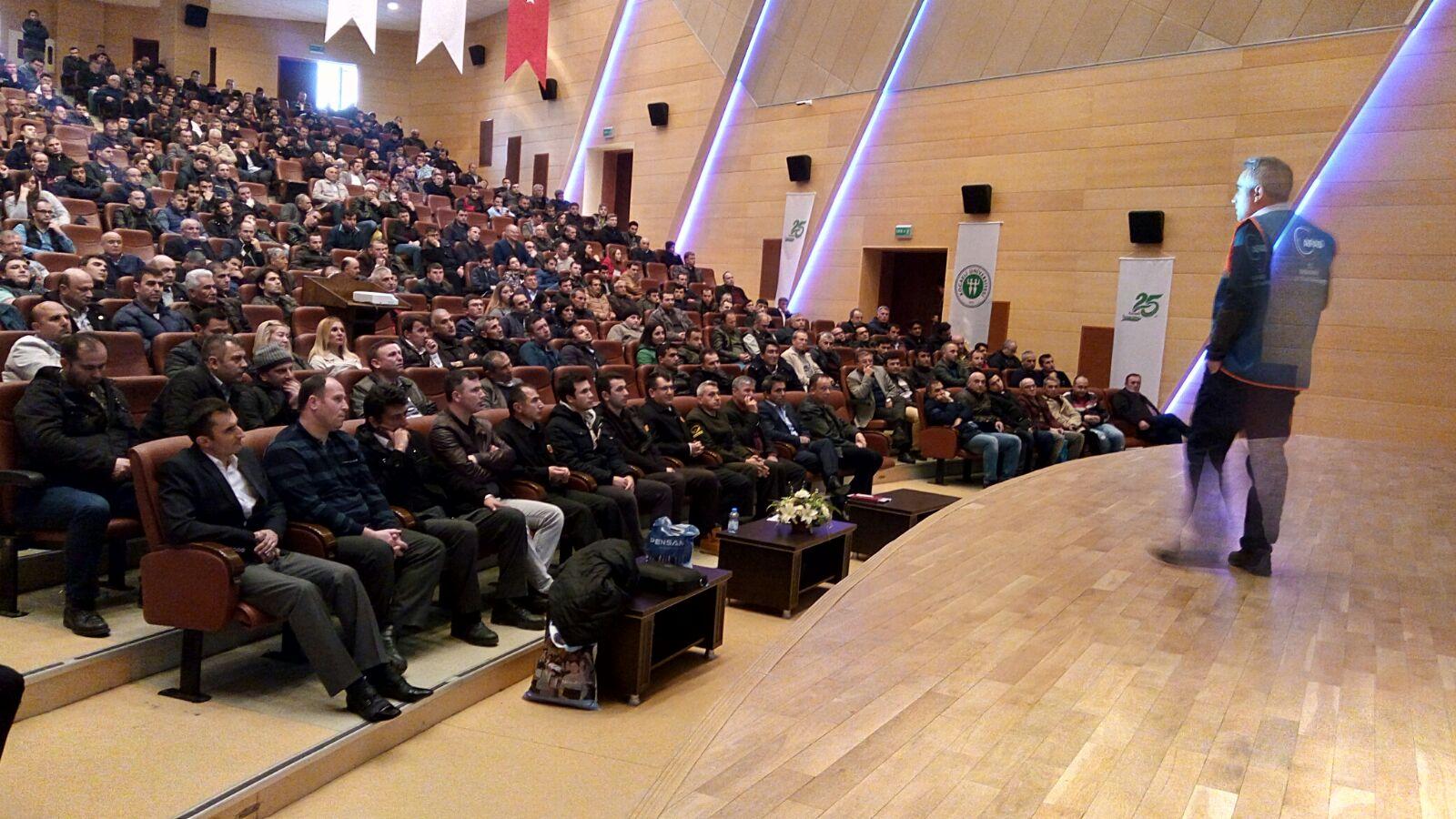 Güvenlik görevlilerine eğitim