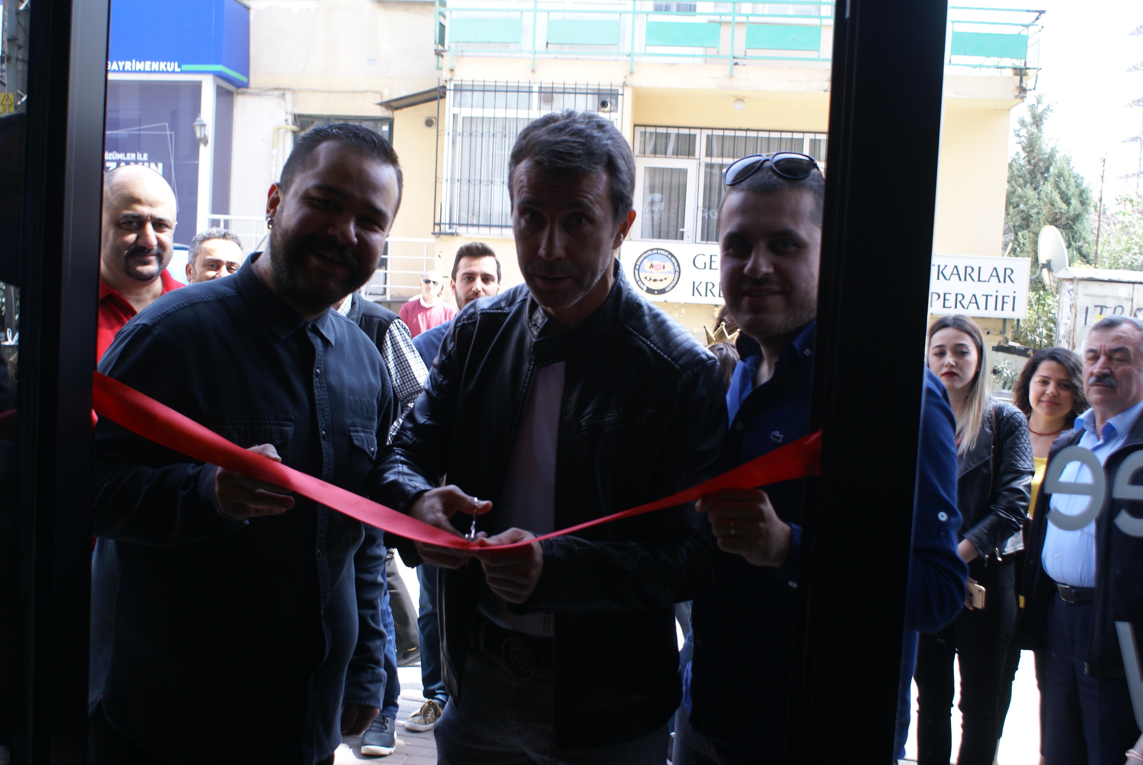 Bülent Korkmaz Gebze'de açılış yaptı