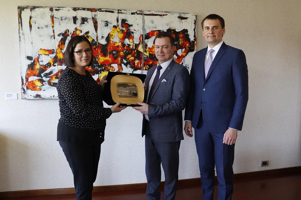 Belarus heyetinden GOSB ziyareti