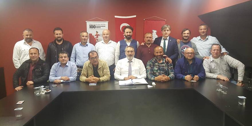 KASKF yönetimi Afrin'e gidecek