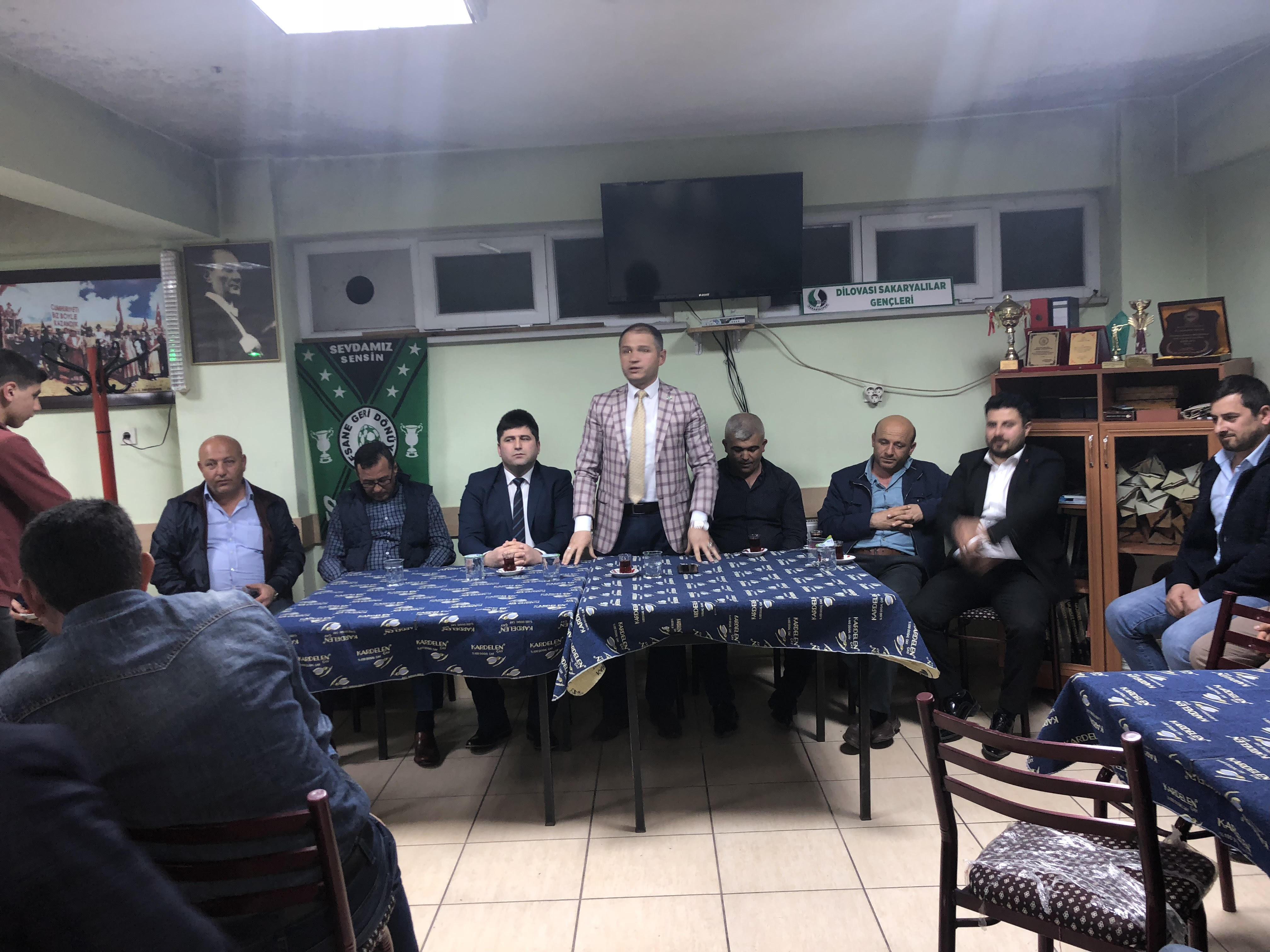 Dilovası İYİ Parti'den Sakaryalılara ziyaret