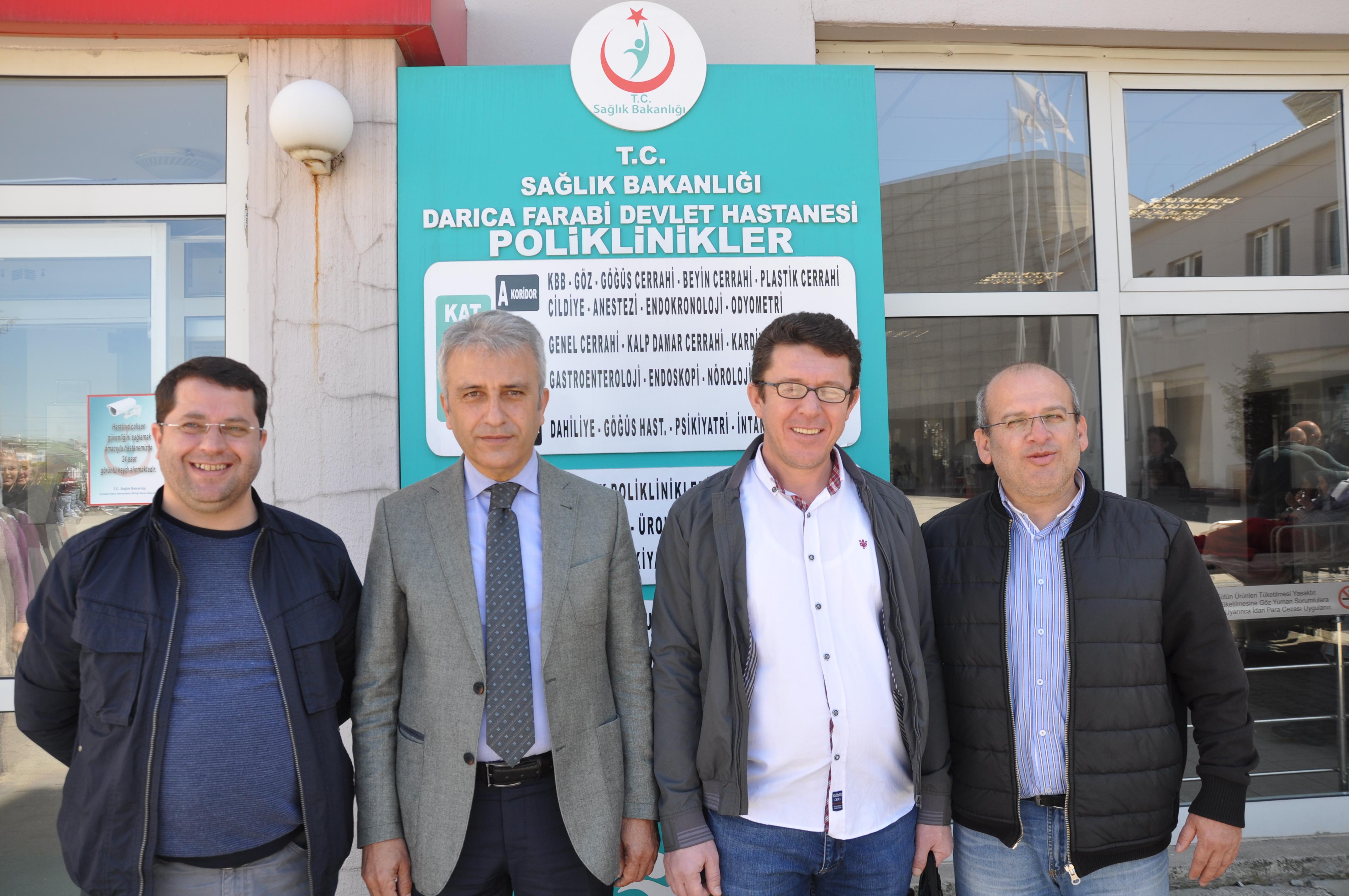 Türk Sağlık Sen'den ziyaret