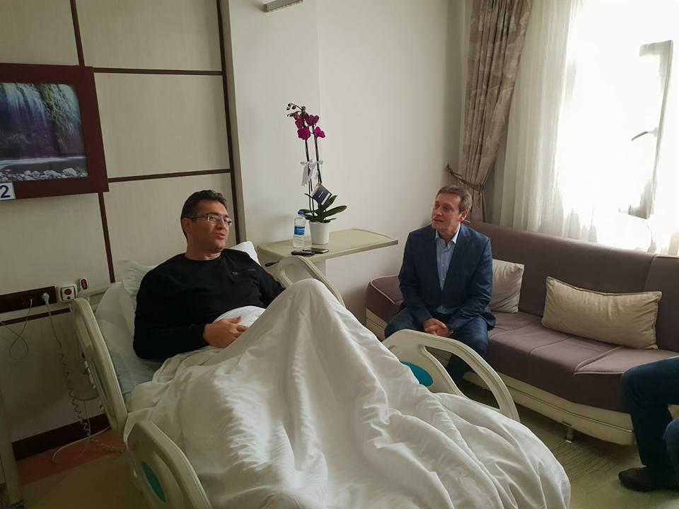 Mustafa Malkoç ameliyat oldu