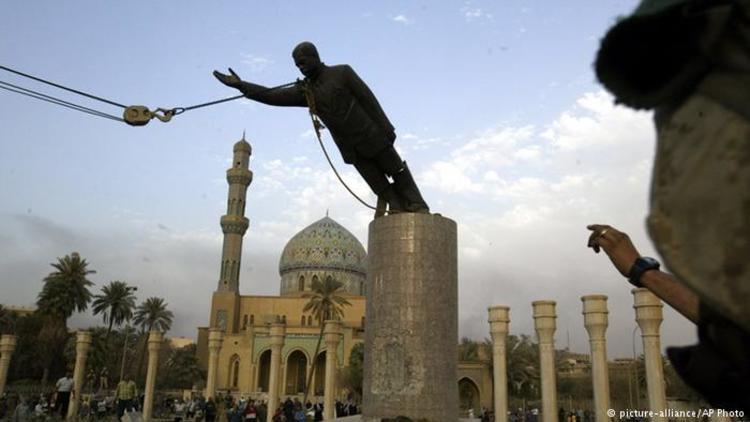 Saddam heykelinin devrilmesinden 15 yıl sonra