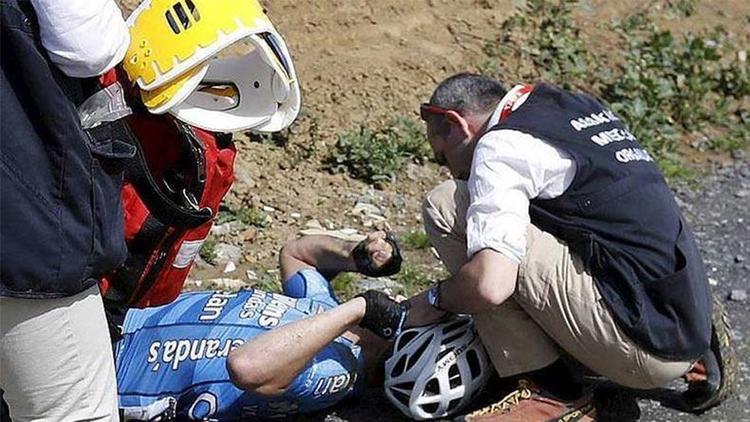 Belçikalı bisikletçi yarış esnasında hayatını kaybetti