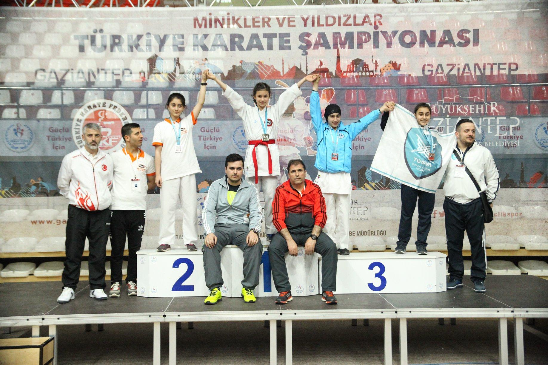 Kağıtsporlu Karateciler'den 4 madalya