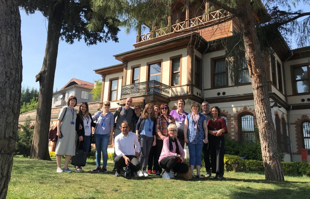 Avrupalı öğretmenler İzmit'i gezdi