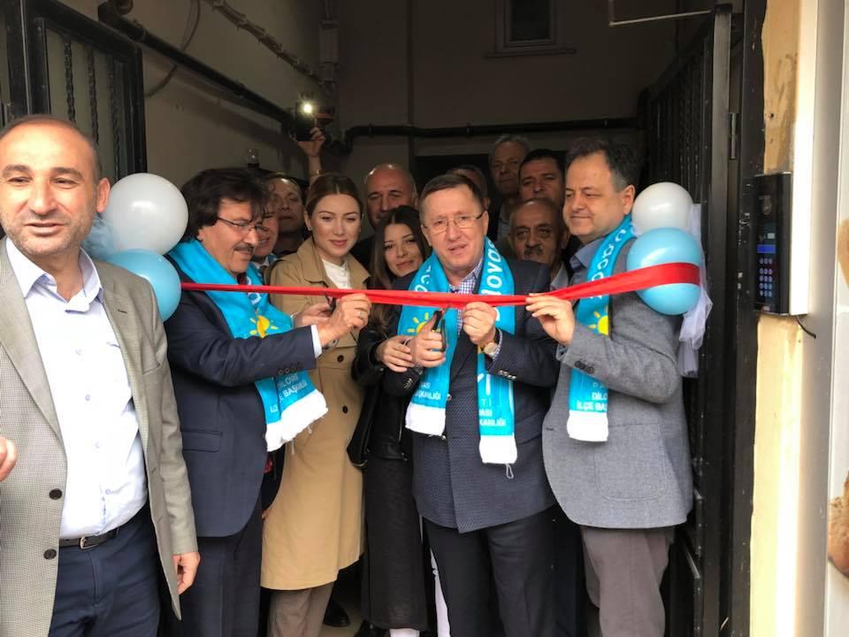 İYİ Parti Dilovası ilçe binası açıldı