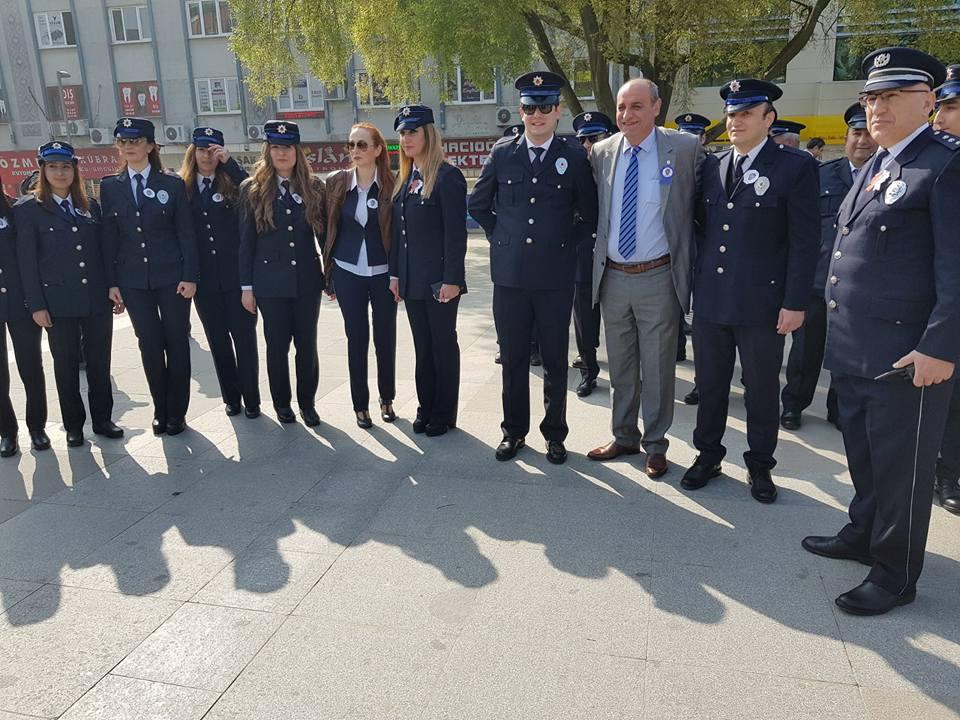 CHP Gebze Polis Haftası Törenine Katıldı