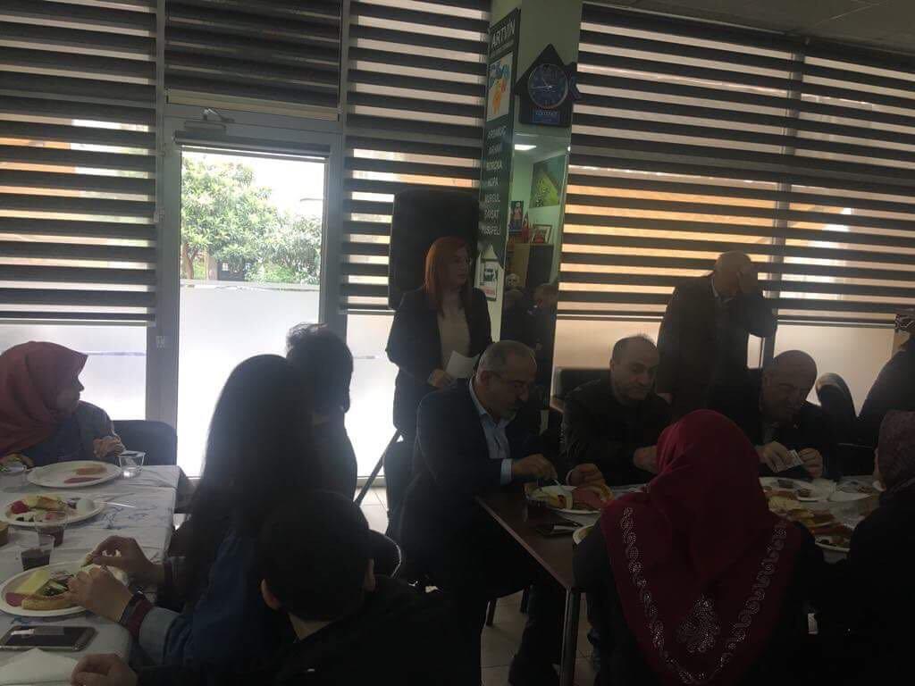 Artvinliler kahvaltıda buluştu