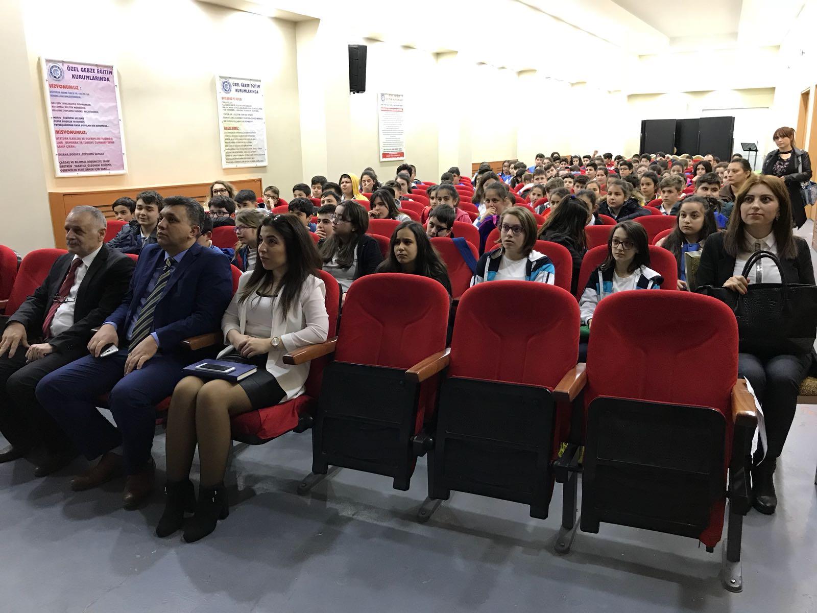 Özel Gebze Eğitim Kurumları'nda sağlık semineri