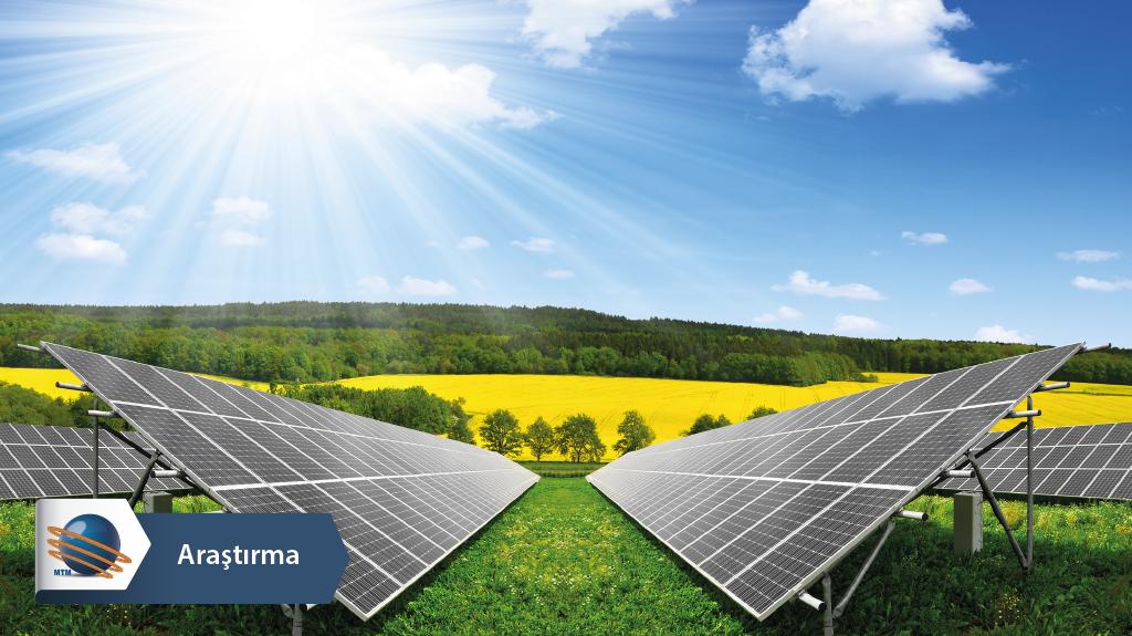 Türkiye güneş enerjisi üretiminde 13'ncü sırada