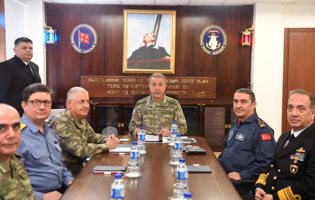 Genelkurmay Başkanı Donanma Komutanlığı'nda