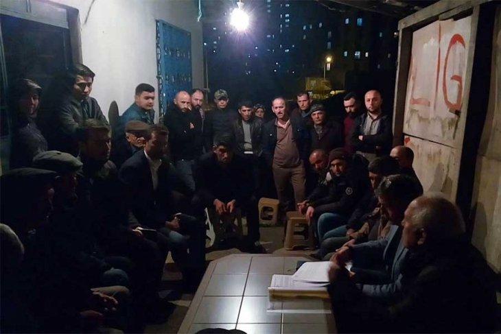 Sazlıdereliler kentsel dönüşüme karşı toplandılar