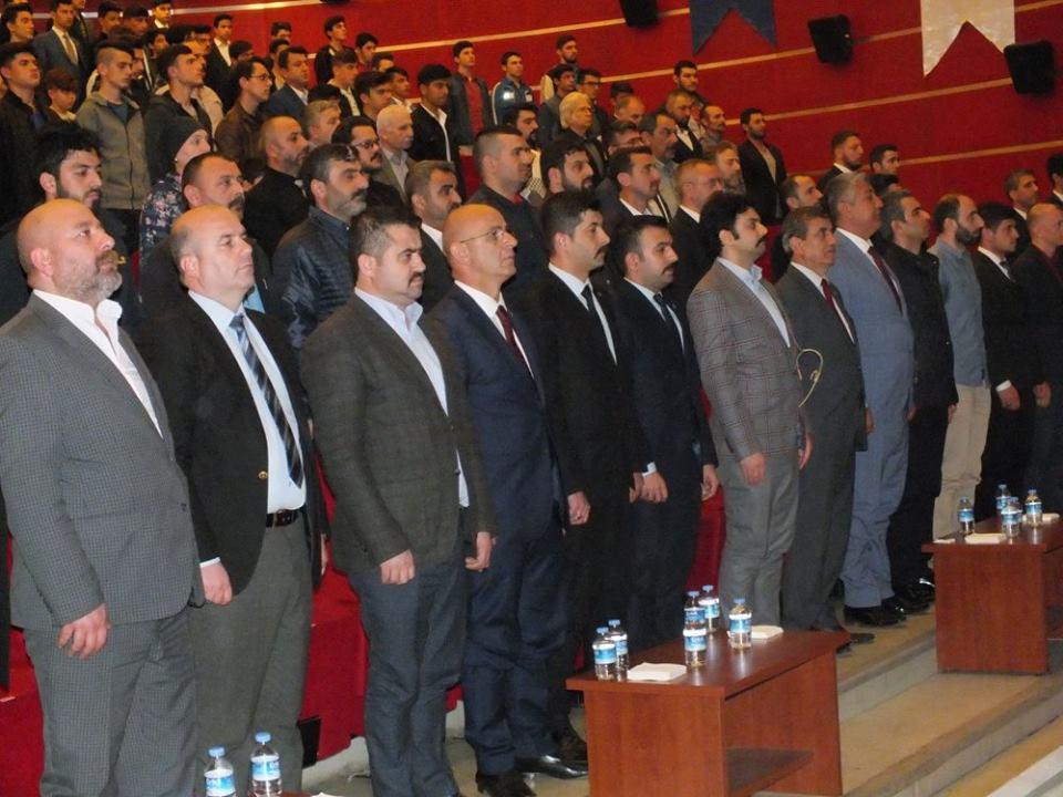 Ülkücülerden Enver Paşa konferansı