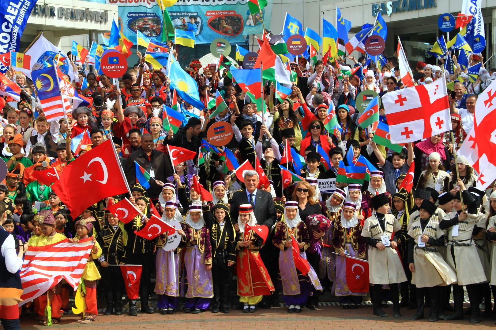 10. Uluslararası Kocaeli 23 Nisan Çocuk Festivali