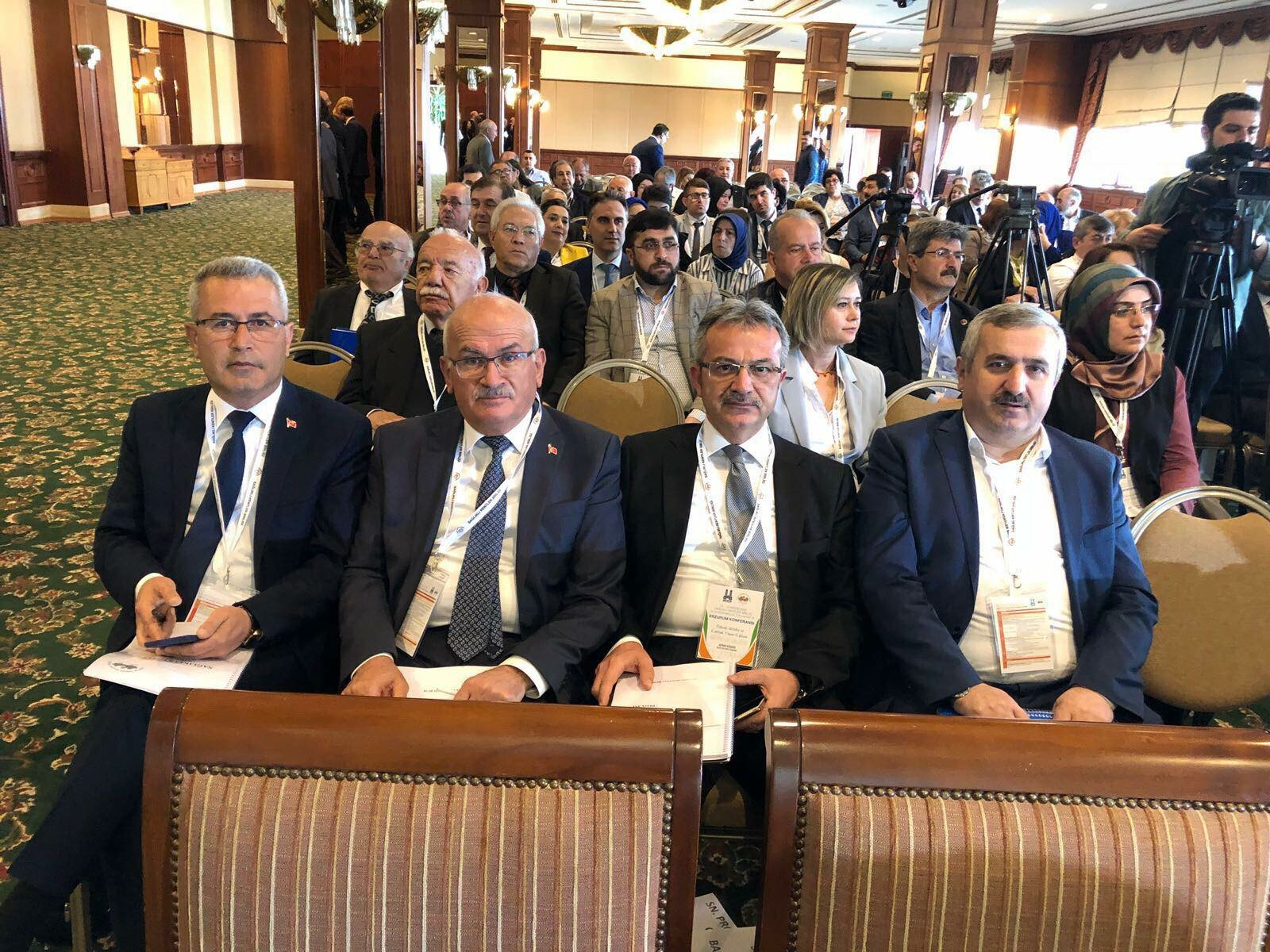 Köşker Sağlıklı Kentler Birliği Toplantısına Katıldı