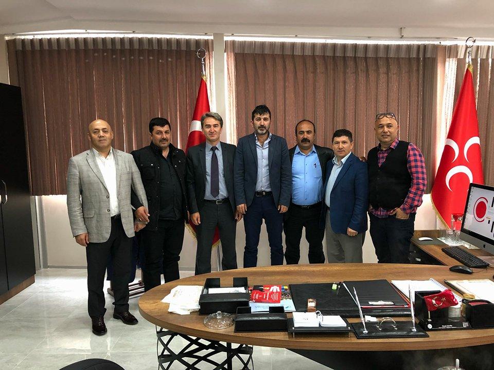 Giresunlular'dan Murat Şahin'e ziyaret