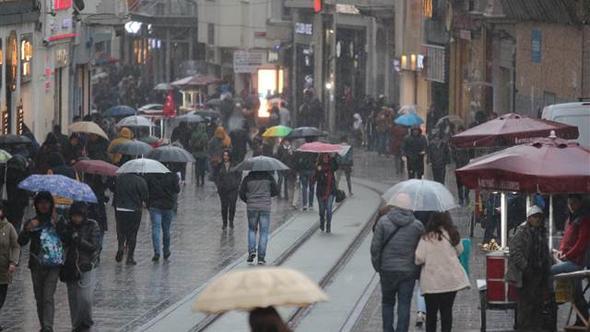 Marmara'da bugün sağanak var, sıcaklıklar azalacak