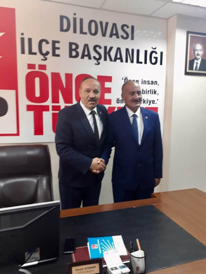 CHP'DEN İLK ADAY DİLOVASI'NDAN