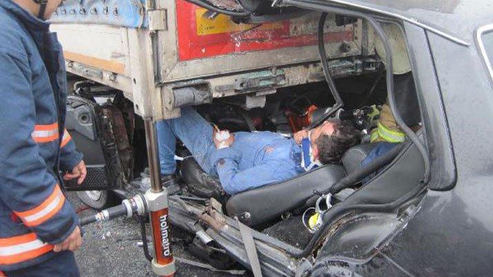 Bu kazadan sağ çıktı