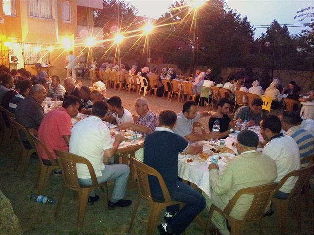 Darıca'da örnek iftar