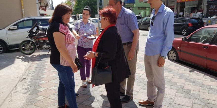 CHP'li Aydın, kararsız seçmenleri kazandırdı