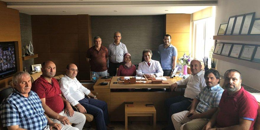 AK Parti'den Höbek'e ziyaret