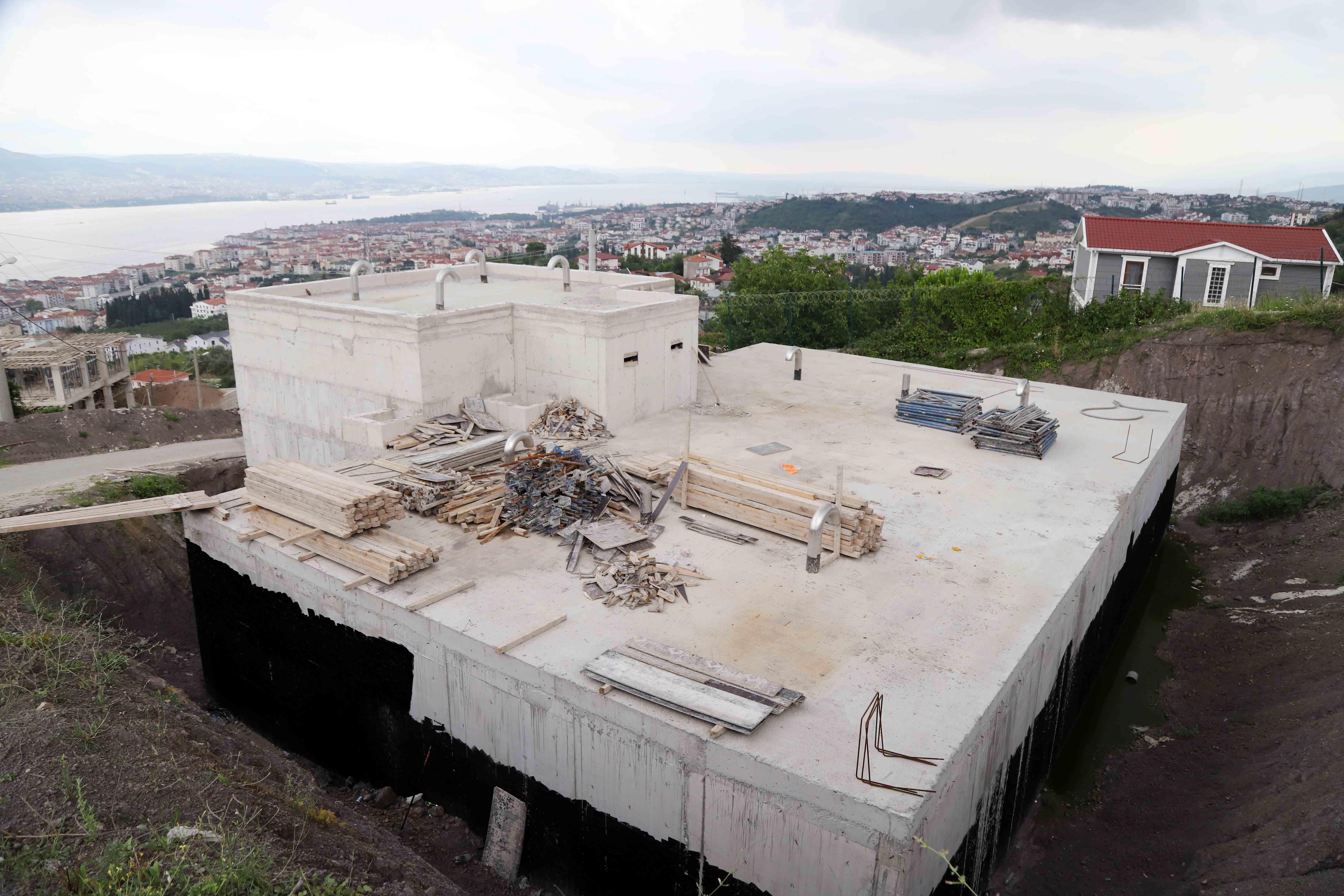 Yeni depolar inşa ediliyor