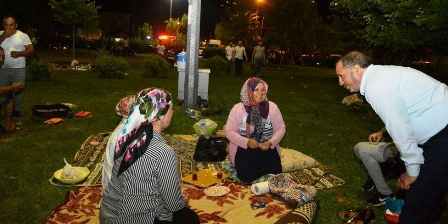 Toltar Piknikçilerle Buluştu
