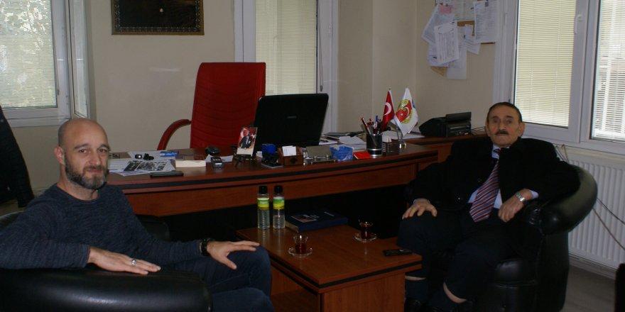 Kadıoğlu'ndan gazetemize ziyaret