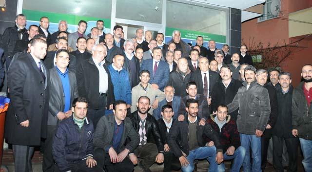 Karabacak Hasan Göç'ü uğurladı