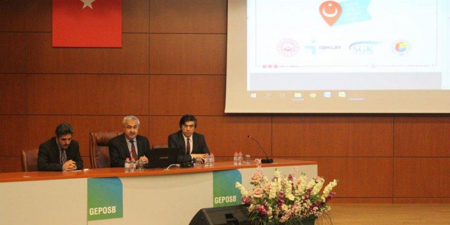 GEPOSB'da toplantı yapıldı
