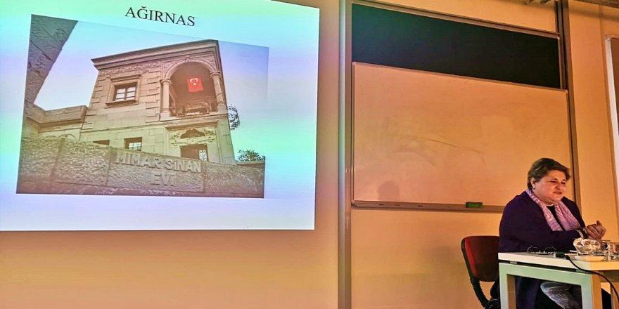 GTÜ MİMARLIK FAKÜLTESİ'NDE 'Sinan ve Mekan' konferansı düzenlendi