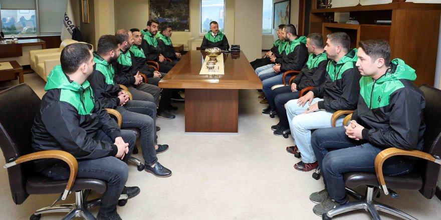 ''Kocaelispor, kentimizin ayrılmaz bir parçasıdır''