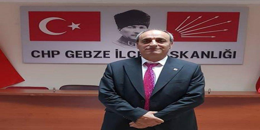 """CHP İLÇE BAŞKANI MUSA YILMAZ:""""Kılıçdaroğlu yalnız değildir"""""""