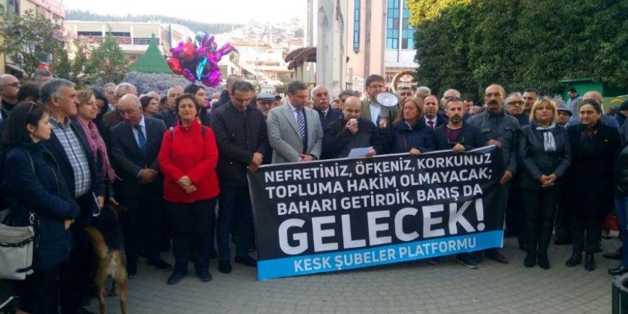 """KESK KOCAELİ ŞUBELER PLATFORMU:  """"İçişleri bakanı istifa etsin"""""""