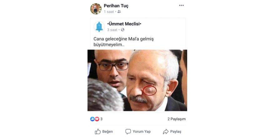 KILIÇDAROĞLU'NA HAKARET:  CHP'den Ak Partili yöneticiye suç duyurusu